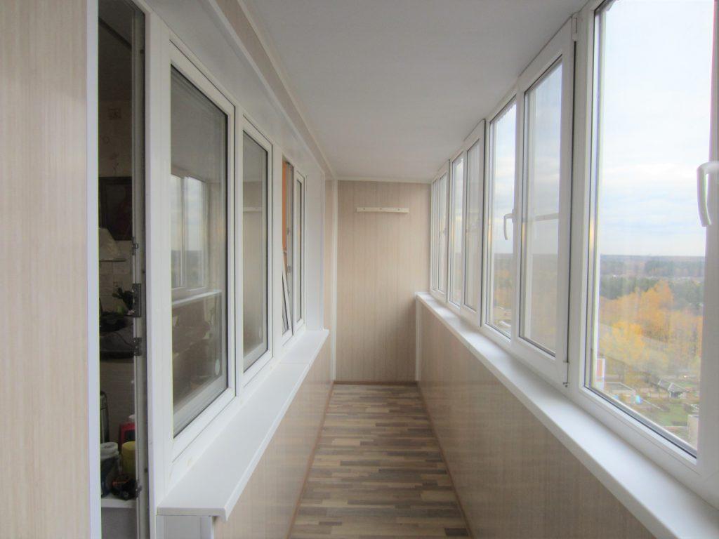 ремонт балкона балашиха