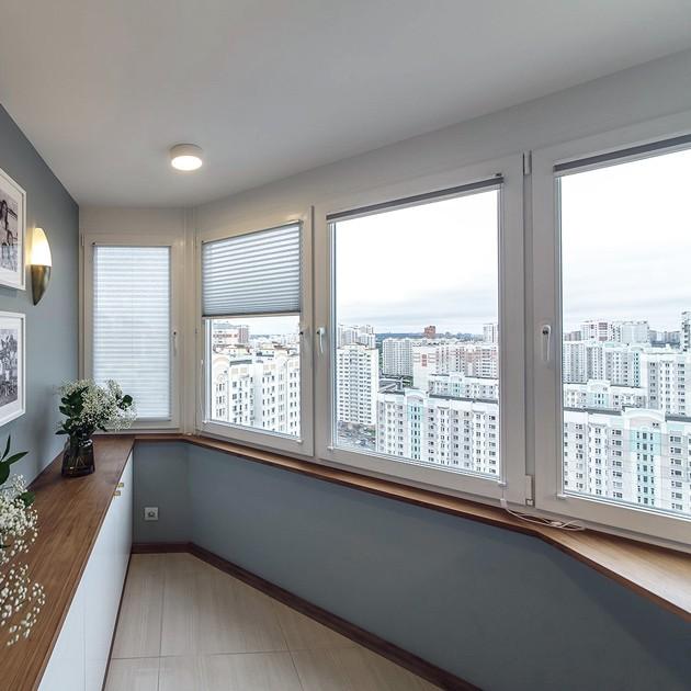 балкон сапожок