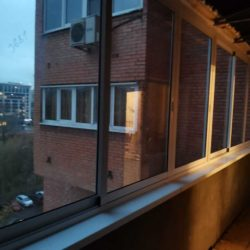 Балкон изнутри