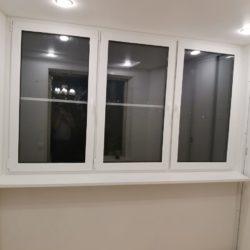 Остекление пластиковыми окнами Rehau Action