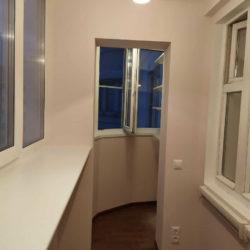 Утепление балкона с отделкой под ключ