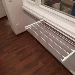 сушилки для белья на балкон настенная выдвижная