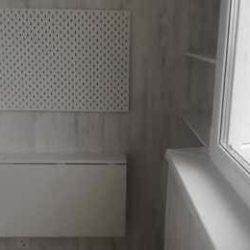 Откидной стол на балконе