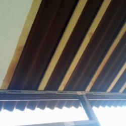 крыша балкона из керамопласта