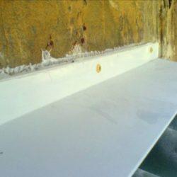 керамопласт на балконе