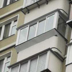 Балкон в доме серии КОПЭ