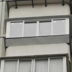 Балкон с выносом на кронштейнах