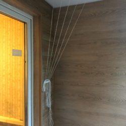 ламинат и внутренняя отделка балкона