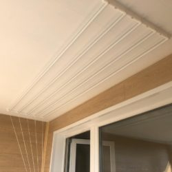 потолочная сушилка пвх потолок и стены из ламината