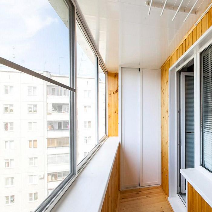 легкие окна на балкон