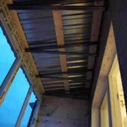 Крыша на лоджию