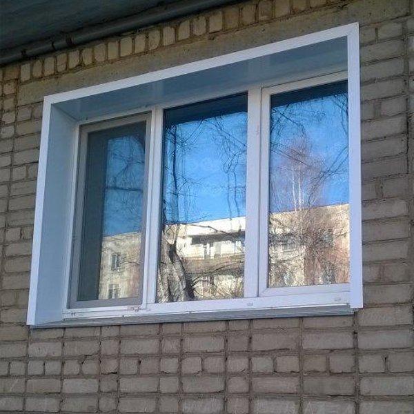пластиковые окна в пятиэтажке