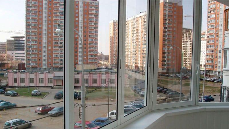 Остекление балконов в Некрасовке