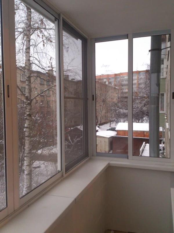Остекление балконов в Перово