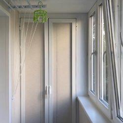 Остекление пластиковыми окнами лоджии
