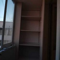 шкаф на балкон в доме серии II-18