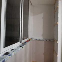 отделка балкона в доме серии II-18