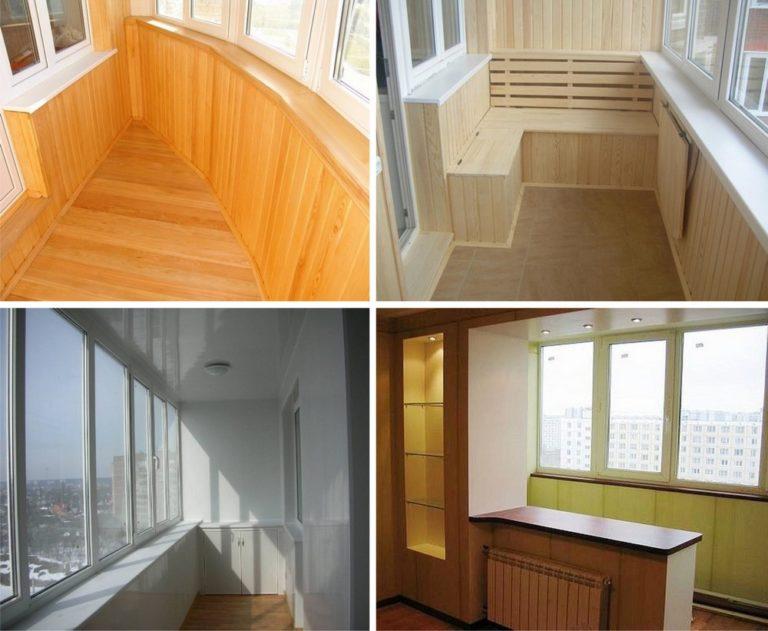сколько стоит обшить балкон