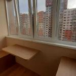 Остекление, утепление и совмещение балкона с комнатой