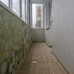 Отделка панелями ПВХ стен, потолка и парапета