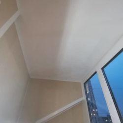 потолок балкона