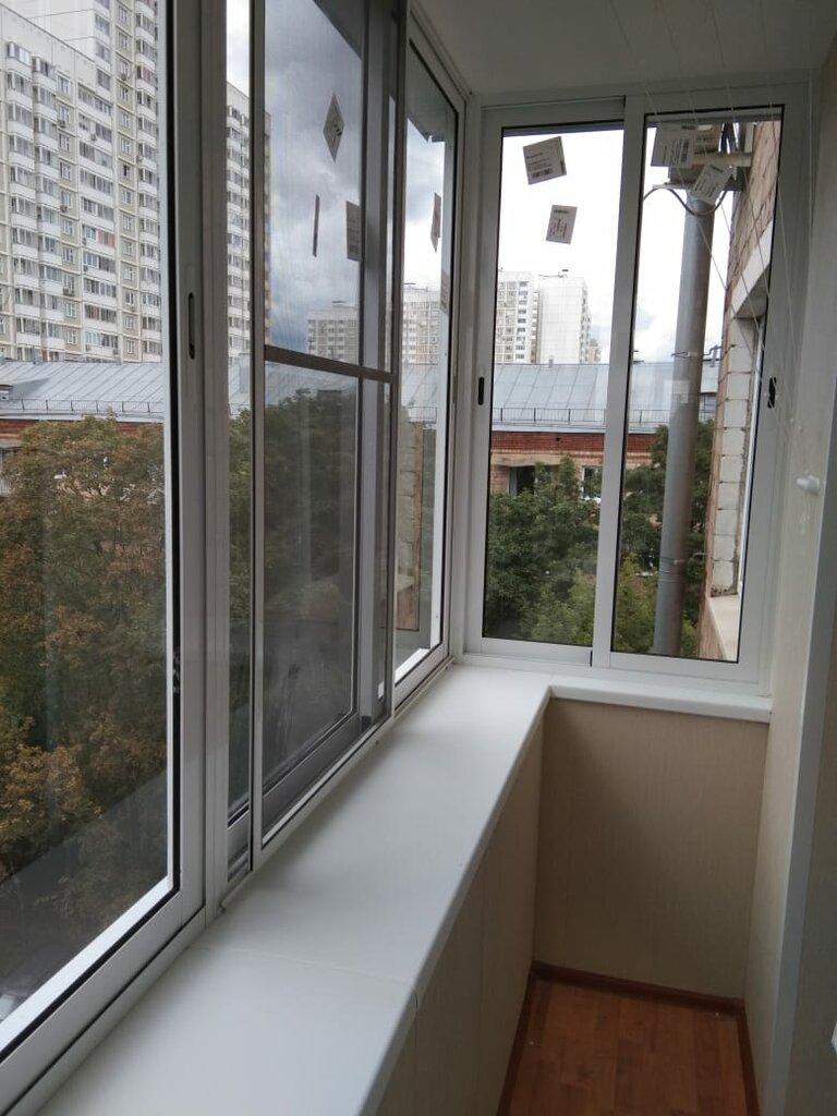 застеклить балкон в печатниках